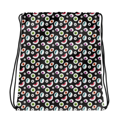 All Seeing Eye Drawstring Bag