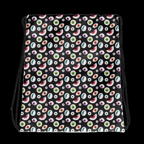 All Seeing Eye Drawstring Bag