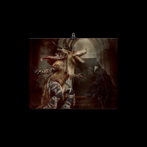 Bloodborne Amelia/Eileen 8x10 Horizontal Poster