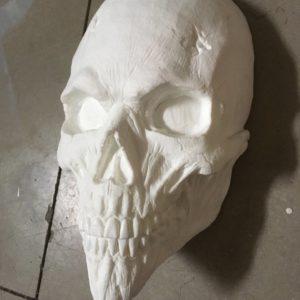 Skull Mask Blank